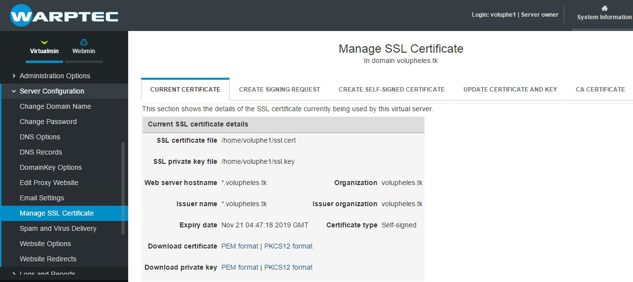 How To Install An Ssl Certificate Knowledgebase Warptec